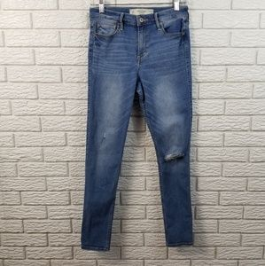 Abercrombie Fitch High Rise Jegging Jeans 30S